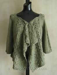 Drape Cardigan Pattern Drape Front Lace Cardigan Knitting Patterns Blog From