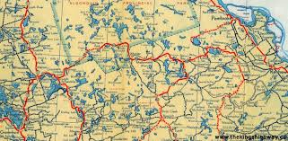 Algonquin Map Map 60 Foto Nakal Co