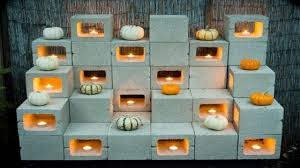 christmas exterior decoration ideas cinder block garden ideas