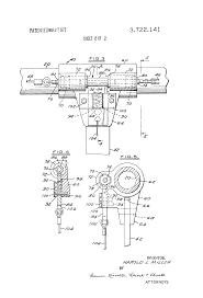 Miller Overhead Door by Patent Us3722141 Overhead Door Operator Release Google Patents