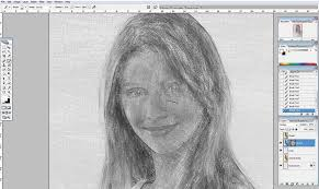 how to turn a photo into a sketch in photoshop part 2 photoshop