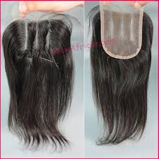 sew in with lace closure color silky indian hair three part lace