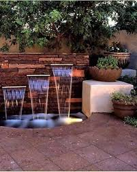 lawn u0026 garden make a relaxed backyard waterfalls water features
