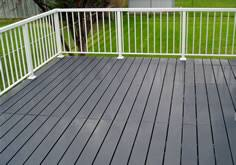 versadeck aluminum decking polyurea deck coatings thick comfort
