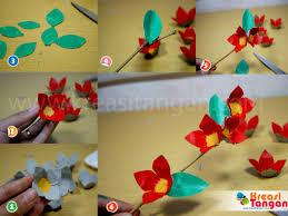 cara membuat kerajinan akrilik membuat kerajinan tangan dari karton telur kreasi tangan