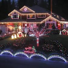 outdoor lighted decorations image of light