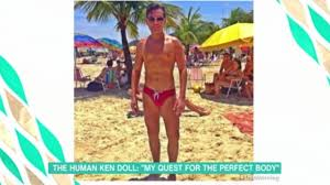 human ken doll before and after rodrigo alves before and after pics human ken doll who has had