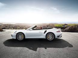 white porsche 911 convertible side white color vrt 2015 porsche 911 turbo s interior colors and