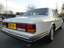 Used Acrylic White Bentley Turbo R For Sale Cheshire