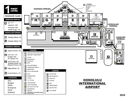 American Airlines Floor Plan Airport Pickup Information Island Express Shuttle Waikiki Hawaii
