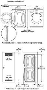 Faucet Washer Size Chart Whirlpool Wfw85hefw 27 Inch 4 5 Cu Ft Front Load Washer In