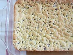 lazy chocolate chip cookie bars the country cook