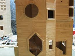 Toothpick House Nothing But Toothpicks Archinter