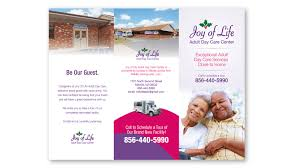 graphic design for joy of life day care center in millville