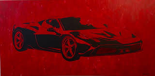 ferrari wall art abstract art classes u0026 lessons learn how to paint painting