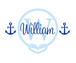 compare prices on babies names boy online shopping buy low price nautical sailor themed wall stickers baby boy nursery wall decor decal personalized name custom initial mural