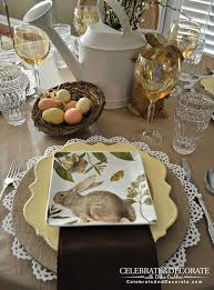 Easter Table Decorations Easy by Party Theme Idea Diy Craft
