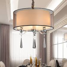 Dining Room Chandeliers With Shades by Online Get Cheap Crystal Chandelier Shade Aliexpress Com