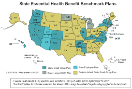 us map 50 states state insurance mandates and the aca essential benefits provisions