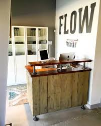 Small Reception Desk Ideas Check Out The Build Of The Flow Cycle Studio Reception Desk It U0027s