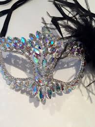 rhinestone masquerade masks rhinestone mask feather mask costume party masked
