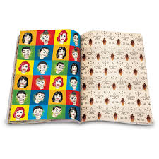 book wrapping paper gift wrap creepy wrapping paper book novelime inc it s