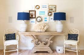 White Foyer Table Foyer Table Decor Ideas Hall Beach Style With Ceramic Garden Stool