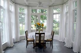 white drapes houzz