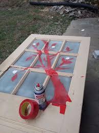 Repurposing Old Chandeliers Recycle 1 Old Chandelier U0026 1 Old Door To This Hometalk