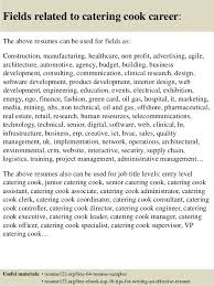 Cook Resume Examples by Top 8 Catering Cook Resume Samples