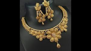 gold plated fashion necklace images Artificial gold necklace for women imitation artificial gold jpg