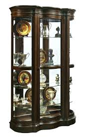 curio cabinet with light pulaski oak curio cabinet urbanbarnmarketmemphis com