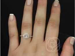 gold halo engagement rings rosados box kubian 6mm 14kt gold morganite and diamonds