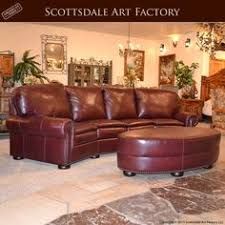 Curved Sofa Leather Curved Leather Sofa Brown Http Makerland Org How To Decide