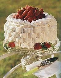 dessert baskets strawberry basket cake recipe epicurious