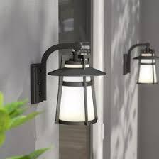 Exterior Home Light Fixtures Modern Outdoor Lighting Allmodern