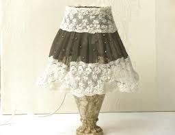 Retro Vintage Home Decor Shabby Chic L Fabric Lace Lshade Antique Home Decor
