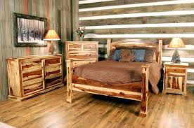decorating rustic wood bed frame with storage bedroom bedding