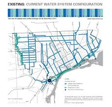 Metro Detroit Map by Detroit Current Water System Map Detroitography