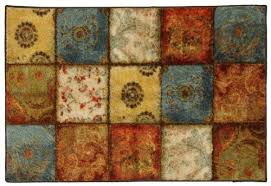 Patchwork Area Rug Townhouse Rugs Artifact Patchwork Area Rug 20 By 34 Inch Area