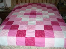 make an easy weekend patchwork quilt topper quilt patchwork and