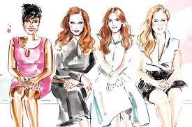 social media fashion illustration elle canada