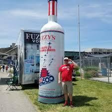 giant drink giant inflatable vodka bottle inflatable bottles pinterest