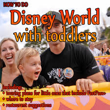 a trip plan for doing disney world with toddlers