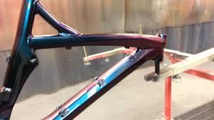 chameleon paint job on bicycle youtube