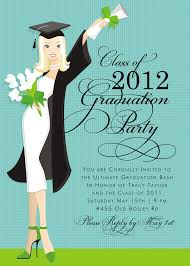 50s graduation girls graduation invitations grad party