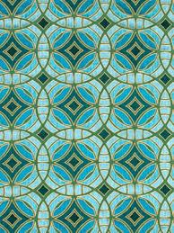 Geometric Fabrics Upholstery Geometric Teal Embroidered Upholstery Fabric Aqua Silk
