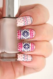 fairisle christmas jumper nails kerruticles