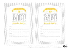 maiko nagao free baby shower guessing printable by maiko