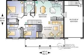ranch floor plans open concept house plan w3229 detail from drummondhouseplans com